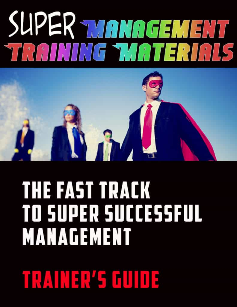 management skills trainers guide